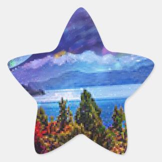 Pegatina En Forma De Estrella La fantasía y la imaginación viven juntas