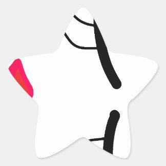 Pegatina En Forma De Estrella la otra colección de la bella durmiente