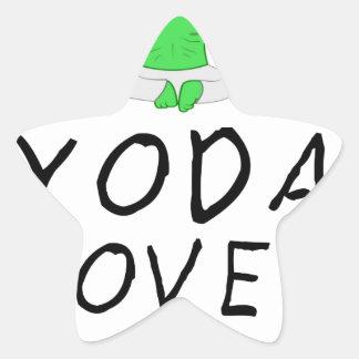 Pegatina En Forma De Estrella la yoga ama yoga