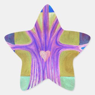 Pegatina En Forma De Estrella Melancolía