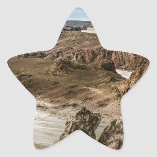 Pegatina En Forma De Estrella Miradores de Darwin, Santa Cruz la Argentina