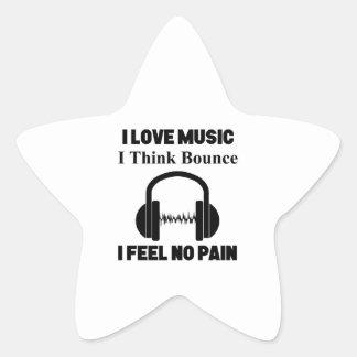 Pegatina En Forma De Estrella Música de la despedida