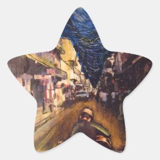 Pegatina En Forma De Estrella Músico 2006 de New Orleans