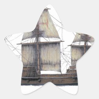 Pegatina En Forma De Estrella Nave de oro de 1578 Hinde