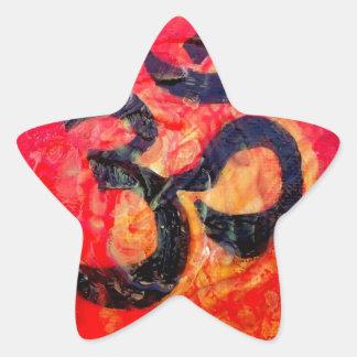 Pegatina En Forma De Estrella Ohmio