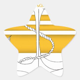 Pegatina En Forma De Estrella oro vicealmirante, fernandes tony