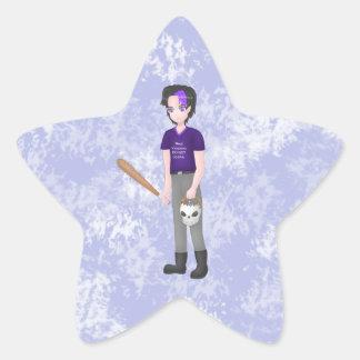 Pegatina En Forma De Estrella pegatinas 1 del vampiro