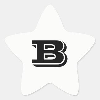 Pegatina En Forma De Estrella Pegatinas blancos de la estrella de la fuente de