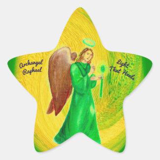 Pegatina En Forma De Estrella Pegatinas de la estrella de Raphael del arcángel