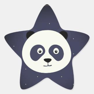Pegatina En Forma De Estrella pegatinas de la panda