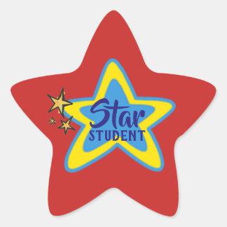 Pegatina En Forma De Estrella Pegatinas del estudiante de la estrella