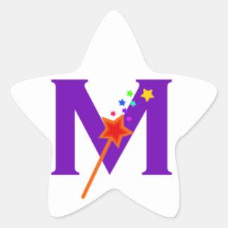 Pegatina En Forma De Estrella Pegatinas mágicos de la estrella de las maneras