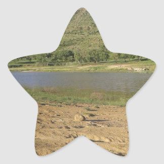 Pegatina En Forma De Estrella Presa 1 de Meulspruit
