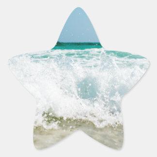 Pegatina En Forma De Estrella resaca