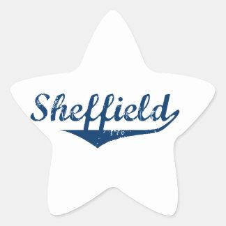 Pegatina En Forma De Estrella Sheffield