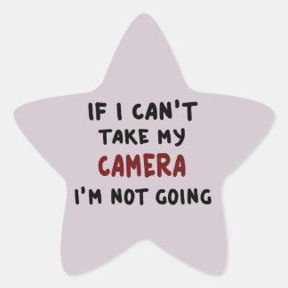 Pegatina En Forma De Estrella Si no puedo tomar mi cámara…