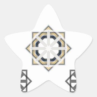 Pegatina En Forma De Estrella spirograph-multiple-shapes3-35