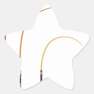Pegatina En Forma De Estrella Tecnología doblada del clip art del ejemplo del