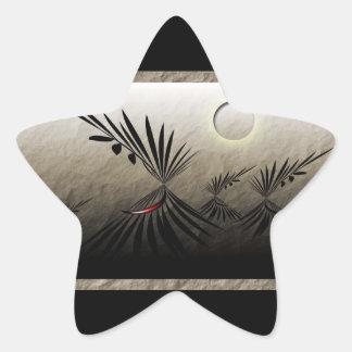 Pegatina En Forma De Estrella Viajes