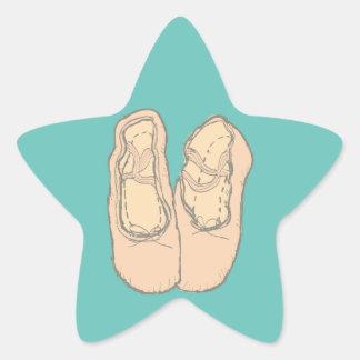 Pegatina En Forma De Estrella Zapatos de ballet