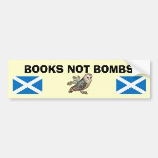 Pegatina escocés del búho de la independencia de