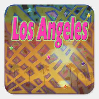 Pegatina eterno de Los Ángeles