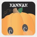 Pegatina fantasmagórico personalizado de Halloween