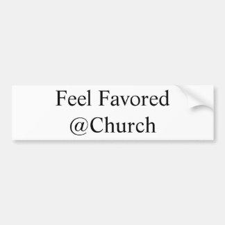 Pegatina favorecido sensación del @Church