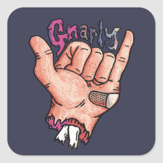 Pegatina Gnarly