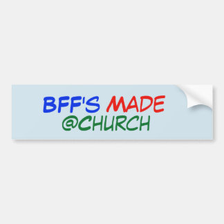 Pegatina hecho del @Church de BFF