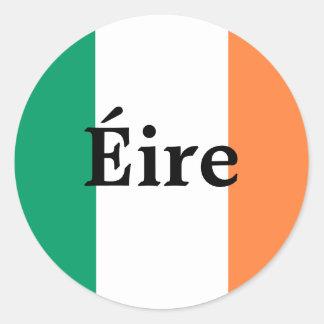 Pegatina irlandés de la bandera