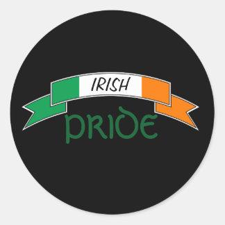 Pegatina irlandés de la bandera de Irlanda del