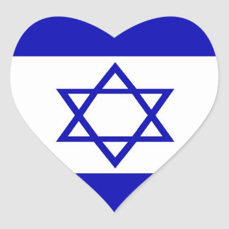 Pegatina israelí de la bandera