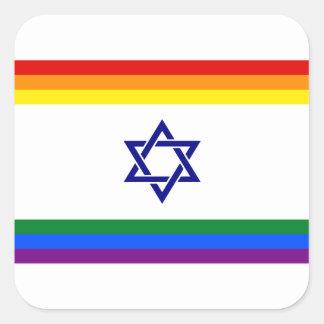 Pegatina israelí de lujo del orgullo