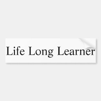 Pegatina largo del principiante de la vida