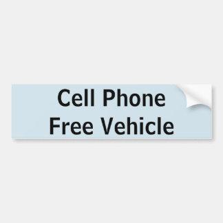 Pegatina libre del vehículo del teléfono celular