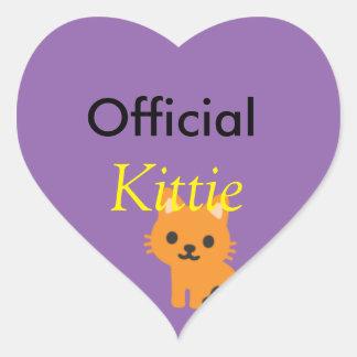 Pegatina oficial del kittie