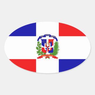 Pegatina Ovalada ¡Bajo costo! República Dominicana