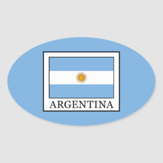 Pegatina Ovalada La Argentina