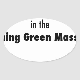 Pegatina Ovalada Morí en la masacre de Bowling Green