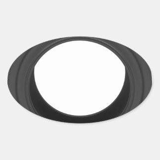 Pegatina Ovalada Neumático de automóvil