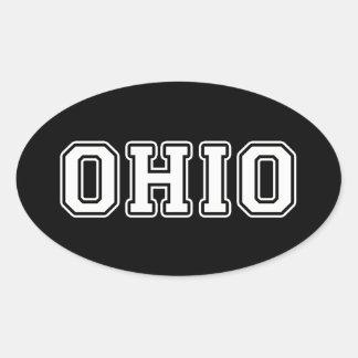 Pegatina Ovalada Ohio