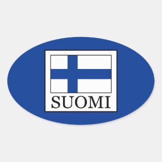 Pegatina Ovalada Suomi
