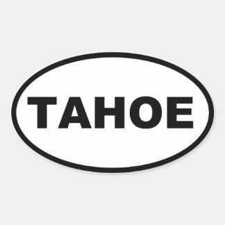 PEGATINA OVALADA TAHOE