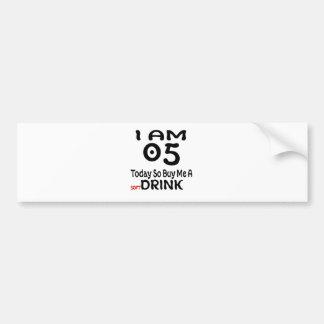 Pegatina Para Coche 05 hoy tan cómpreme una bebida