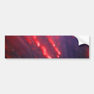 Pegatina Para Coche Abstracción roja y púrpura de la nube