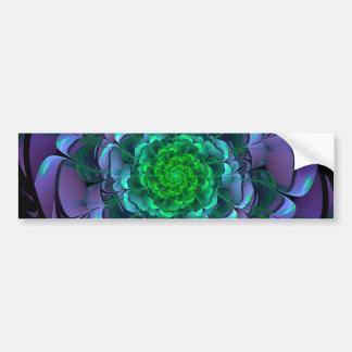 Pegatina Para Coche Aeonium púrpura y verde hermoso Arboreum Zwartkop