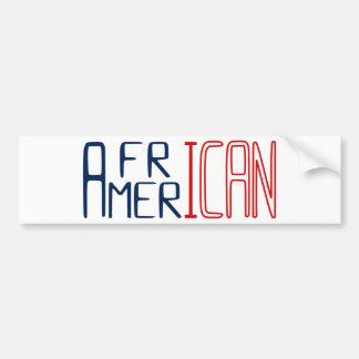 Pegatina Para Coche Afroamericano