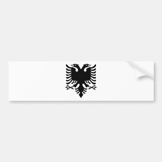 Pegatina Para Coche Águila dirigida doble albanesa