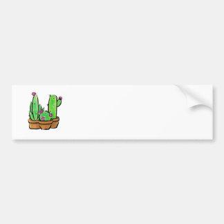 Pegatina Para Coche Alegría del cactus